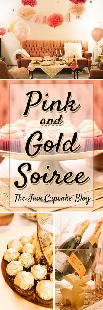 Pink and Gold Soiree | Photos by Bear Moose & Fox Photography featured on The JavaCucpake Blog