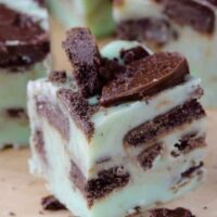 Grasshopper Fudge