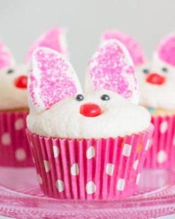Bunny Cupcakes | The JavaCupcake Blog https://javacupcake.com