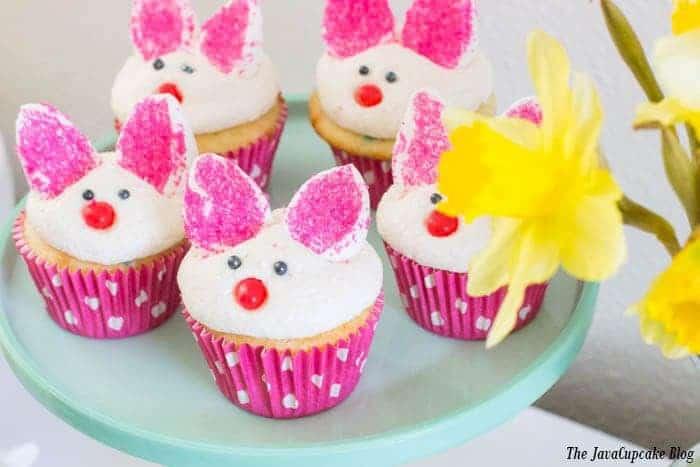 Bunny Cupcakes | The JavaCupcake Blog http://javacupcake.com
