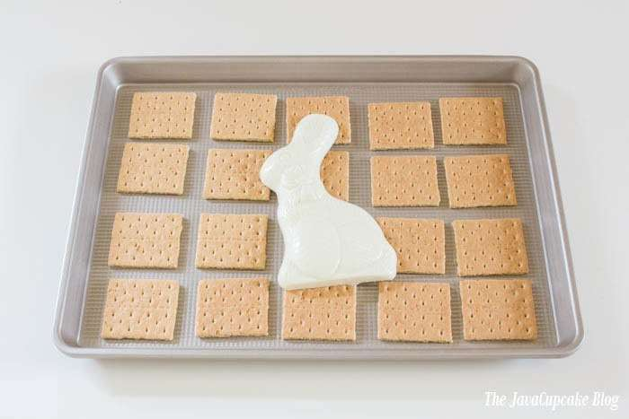 Peeps White Chocolate S'mores | The JavaCupcake Blog https://javacupcake.com