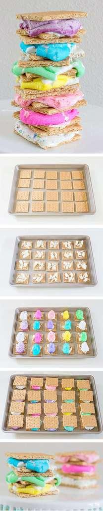 Peeps White Chocolate S'mores | The JavaCupcake Blog https://javacupcake.com