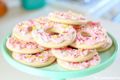 Donut Sugar Cookies