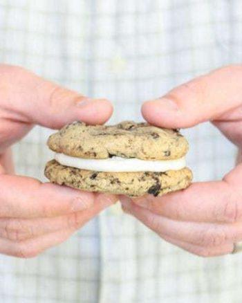 Oreo Cookie Dough Sandwich Cookies by Mr. JavaCupcake for The JavaCupcake Blog | http://javaupcake.com
