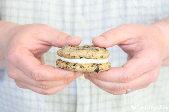 Oreo Cookie Dough Sandwich Cookies