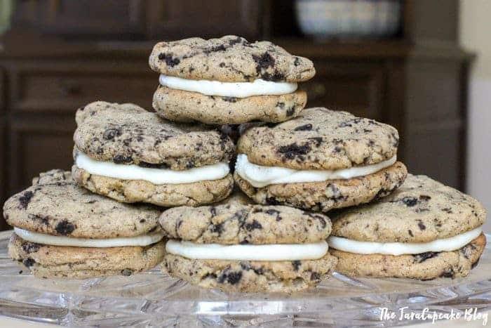 Oreo Cookie Dough Sandwich Cookies - JavaCupcake