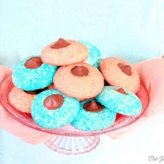 Sugar Cookie Chocolate Thumbprints