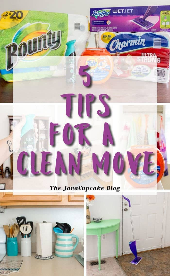 5 Tips for a Clean Move | The JavaCupcake Blog https://javacupcake.com