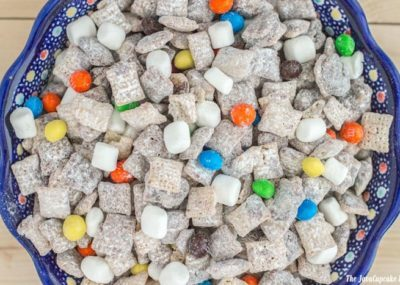 Marshmallow Muddy Buddies | The JavaCupcake Blog http://javacupcake.com