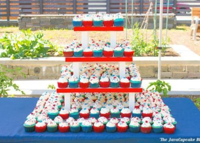 Easy 4th of July Cupcakes   The JavaCupcake Blog https://javacupcake.com