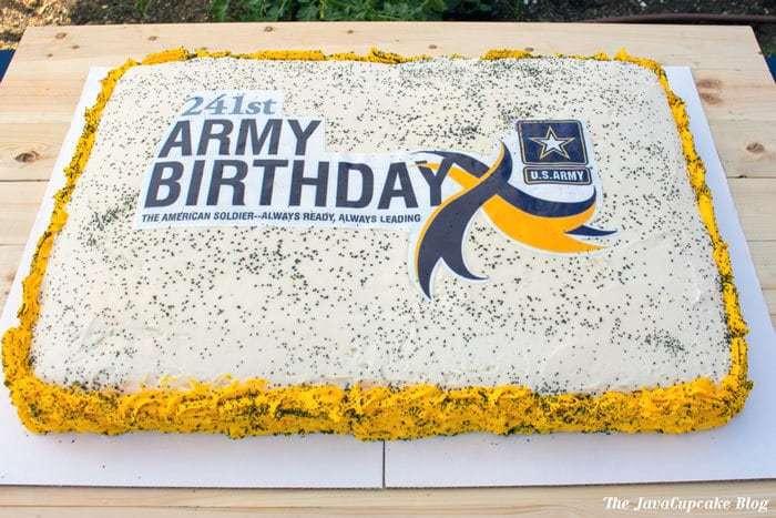 Us Army Birthday Cake Javacupcake