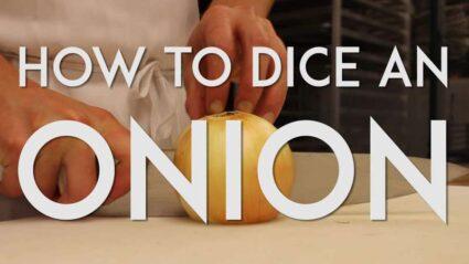 How to Dice an Onion (video tutorial) | The JavaCupcake Blog http://javacupcake.com