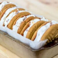 Peanut Butter Ice Cream Sandwiches