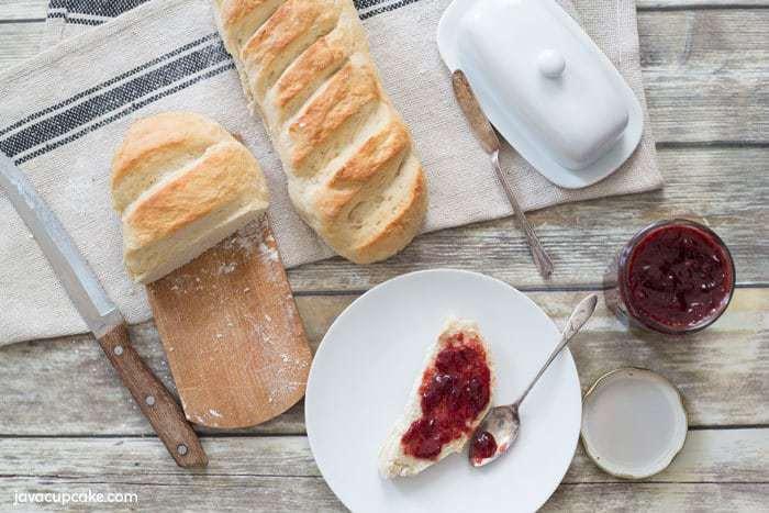 Easy Homemade Strawberry Preserves | The JavaCupcake Blog http://javacupcake.com #FarmToFork