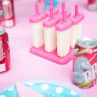 Dr Pepper Cream Pops