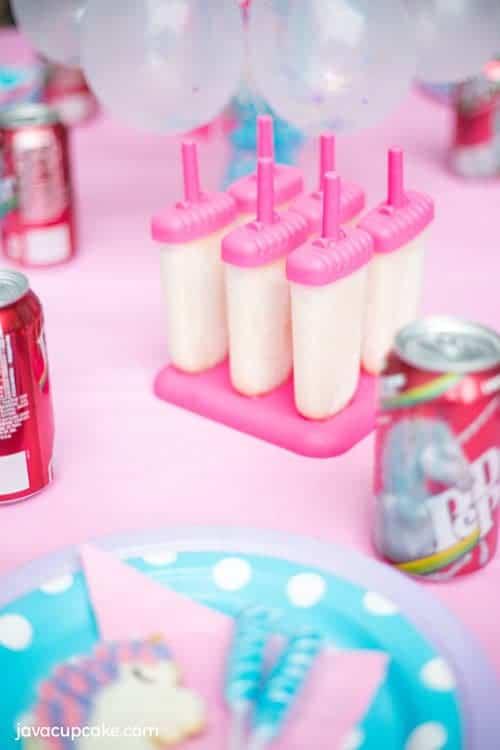 Dr Pepper Cream Pops