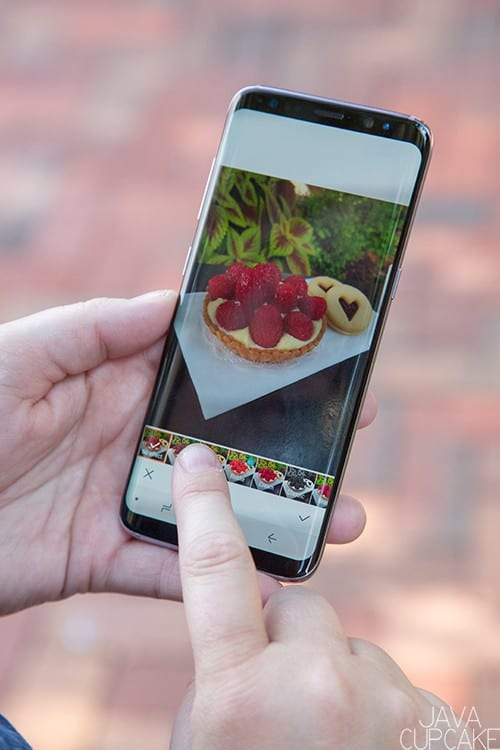 Smartphone Photography Workflow for Instagram | The JavaCupcake Blog https://javacupcake.com #SamsungUnlocked #CollectiveBias