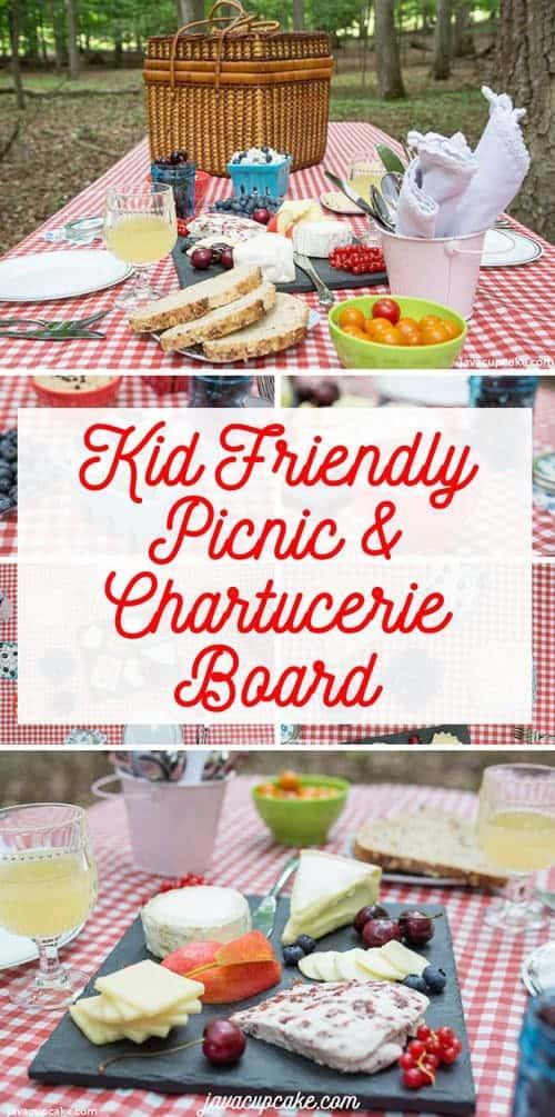 Kid Friendly Picnic & Charcuterie Board | The JavaCupcake Blog https://javacupcake.com