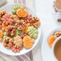 Cinnamon Spritz Cookies