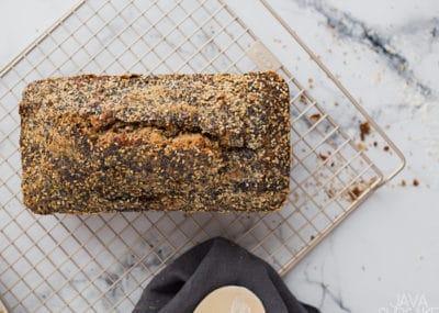 Banana Nut Bread | The JavaCupcake Blog https://javacupcake.com #OXO