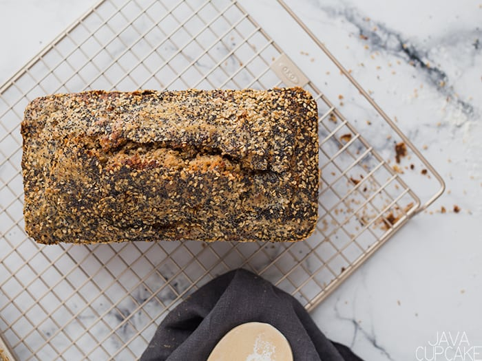 Banana Nut Bread | The JavaCupcake Blog https://javacupcake.com #OXO