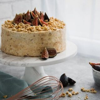 Hazelnut Fig Cake