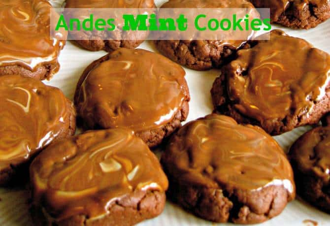 Creamy Mint Cookies