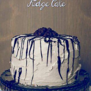 Chocolate Chip Fudge Cake