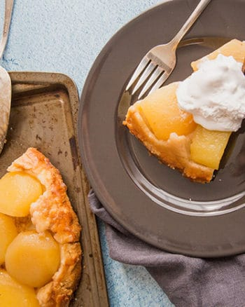 French Apple Tarte #EasterSweetsWeek