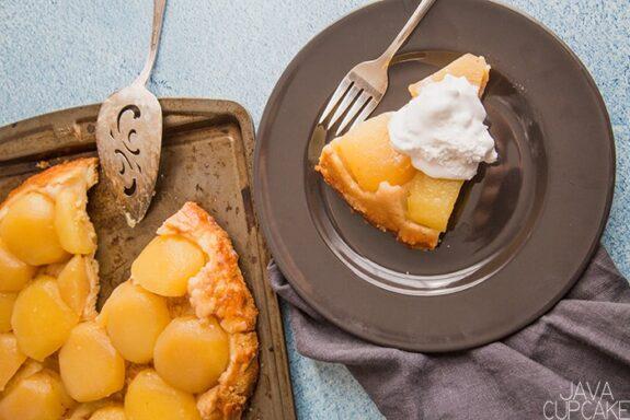French Apple Tarte #EasterSweetsWeek