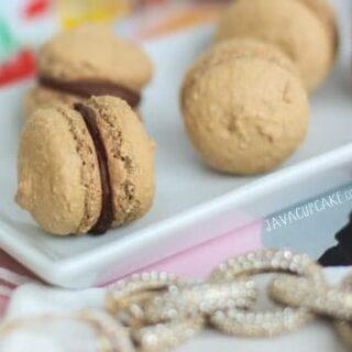 Mini Mocha Macarons