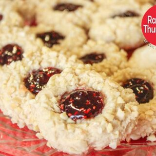 Raspberry Thumbprints