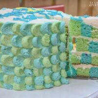 Toy Story Checkerboard Cake