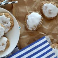 Glazed Oatmeal Cookies