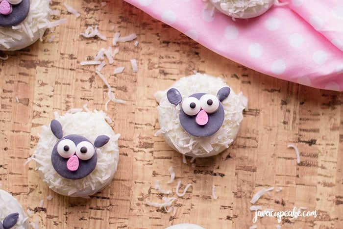 Adorable Lamb Cookies