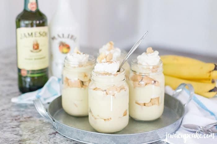 Boozy Banana Pudding | The JavaCupcake Blog https://javacupcake.com #BecauseSummer #LoveThyNeighborhood