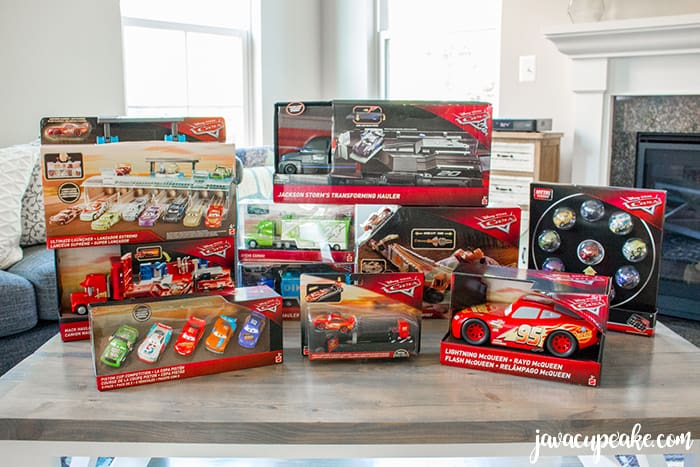 Reward your kids who do their chores by letting them pick out their favorite Disney-Pixar Cars toys at Walmart and a Cars 3 Play Date!| The JavaCupcake Blog https://javacupcake.com #Cars3AtWalmart #ad @Walmart @Mattel
