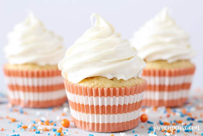 How to make frosting thicker for cupcakes