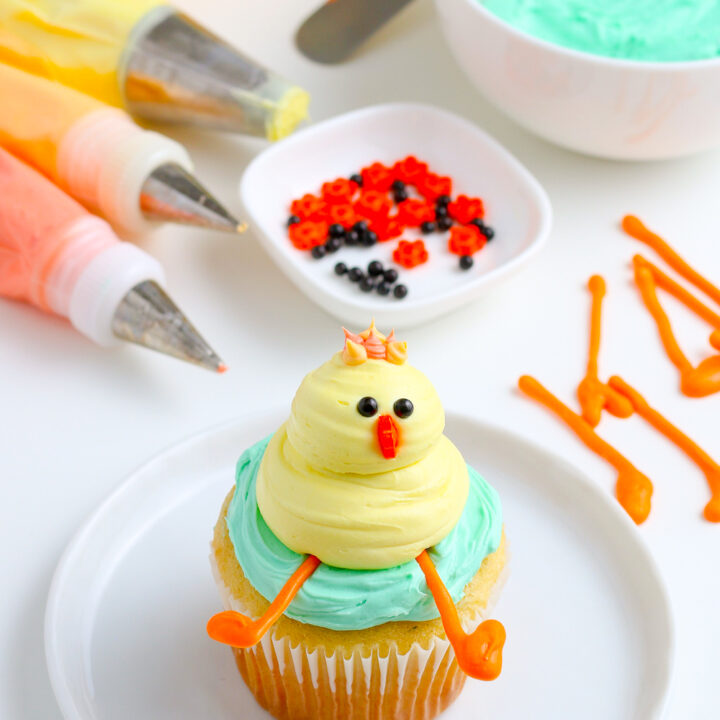 Easter Cupcakes - Chicks